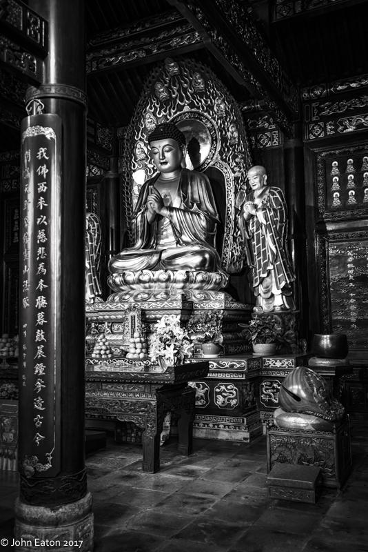 Buddha, Big Goose Pagoda