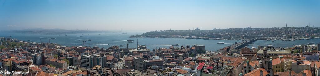 Golden Horn, Bosphorus to The Sea of Marmara
