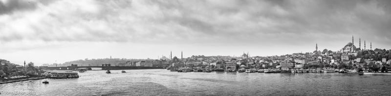 Golden Horn, Galata Bridge, Old City