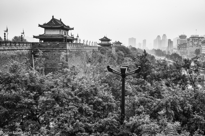City Walls, Guardhouses & Moat
