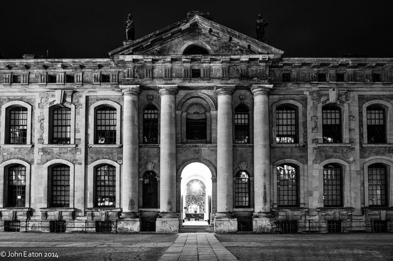 Clarendon Building at Night 1