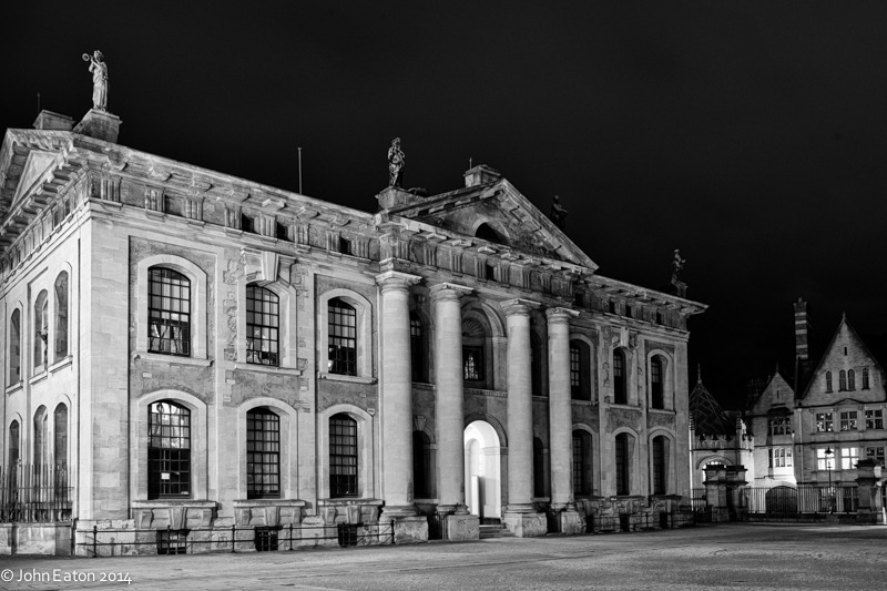 Clarendon Building at Night 2