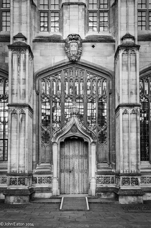 Divinity School, Wren Doorway