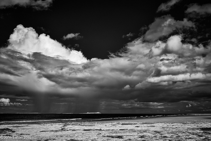 Storm over the Farne Islands