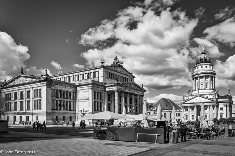 Gendarmenmarkt, Konzerthaus & Franz Friedrichstadtkirche