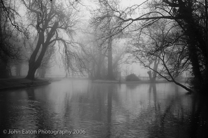 Oxford, Isis in Fog #1