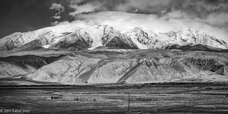 Kongur Mountain & Glaciers