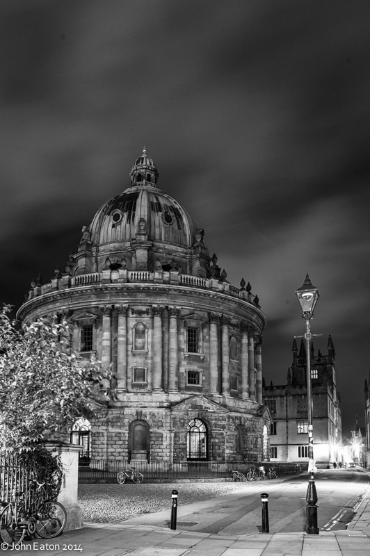 Radcliffe Camera & Bodleian at Night