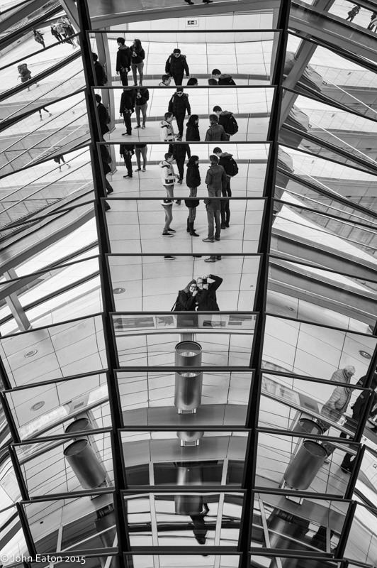 Reichstag Dome, Selfie