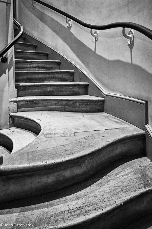 Somerset House, Stairway