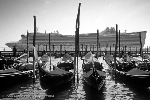 Venice, Gondolas Old and New