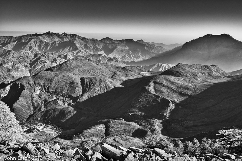 Al Hajar Mountains, Wadi Bani Auf, From Sharafat al Alamayn