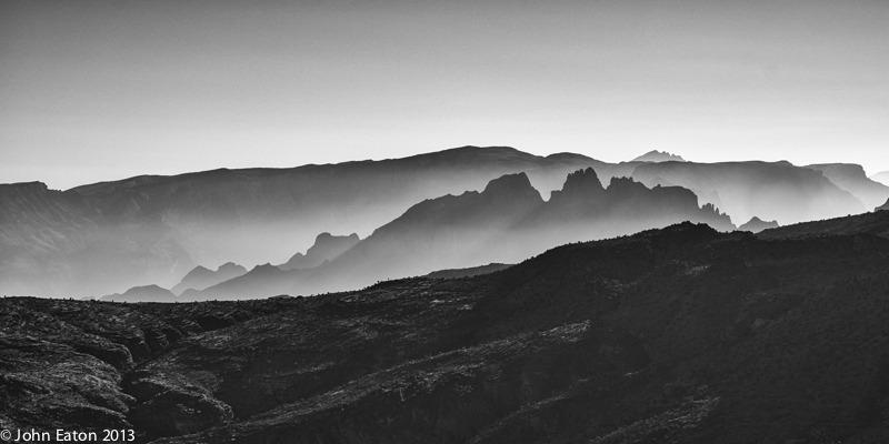 Al Hajar, Misty Mountains