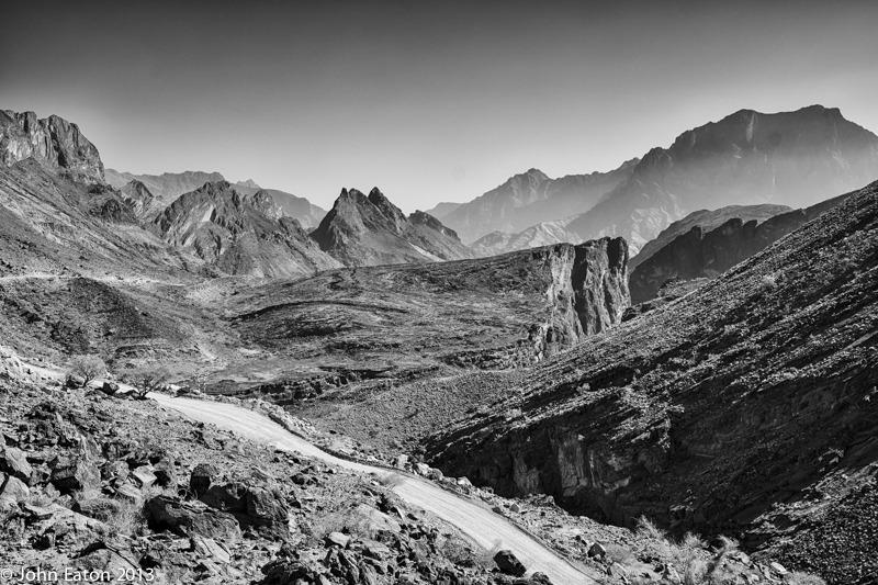 Wadi Bani Auf, Snake Gorge (right)