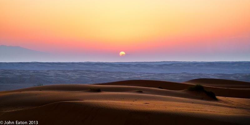Wahiba, Sunrise