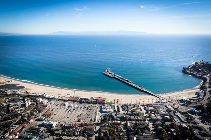 Beach, Boardwalk & Wharf