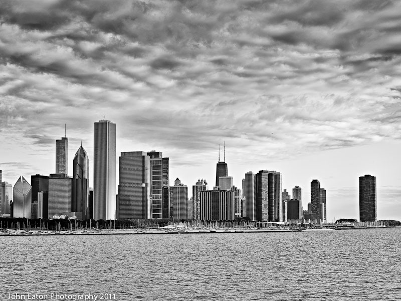 Chicago, Early Morning Skyline