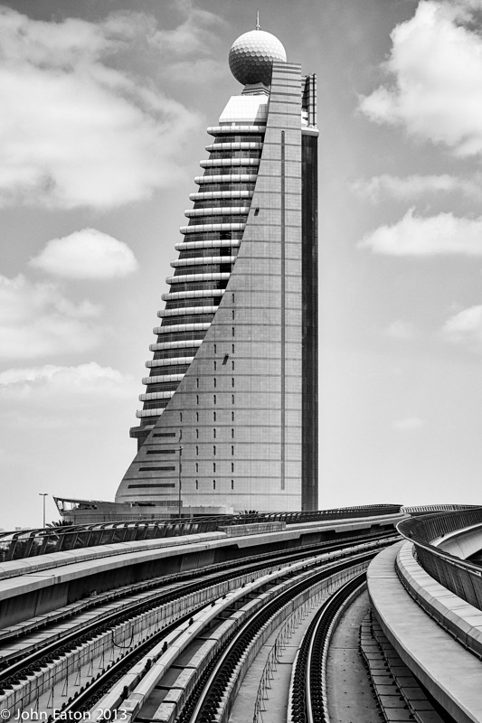 Dubai 1, From the Metro