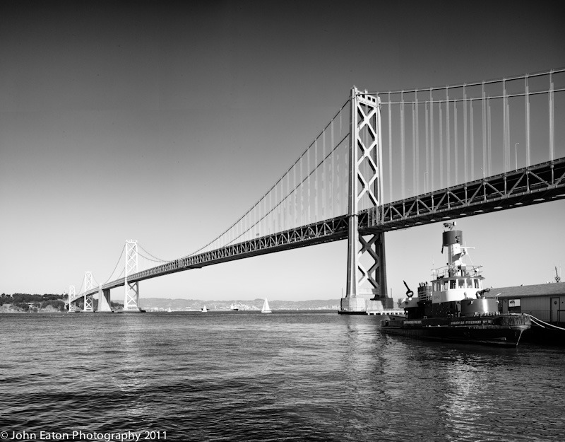 Fireboat #2 at Bay Bridge