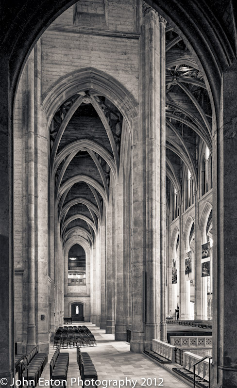 Grace Cathedral, North Aisle