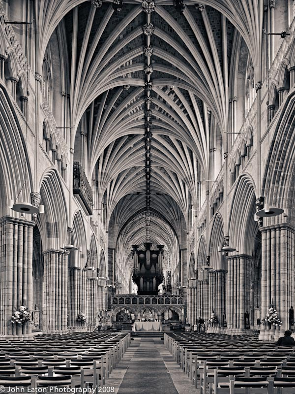 Exeter, Nave Looking East