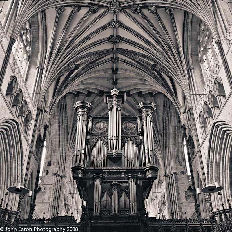 Exeter, Organ