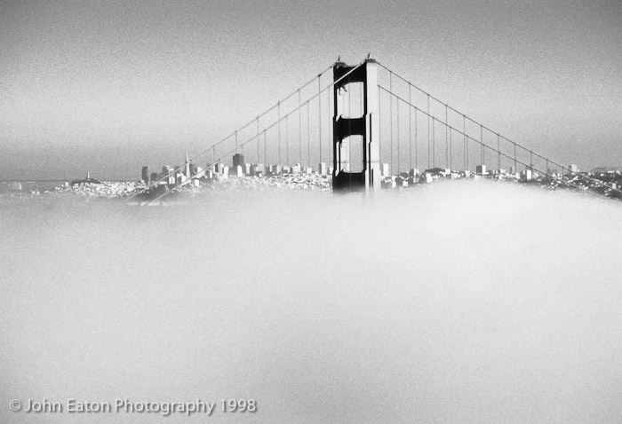 Fog through the Bridge