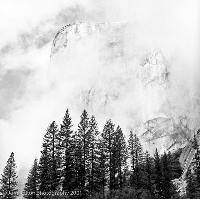 Yosemite, El Capitan in Mist