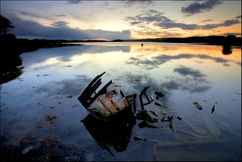 Brown Island Dawn #1