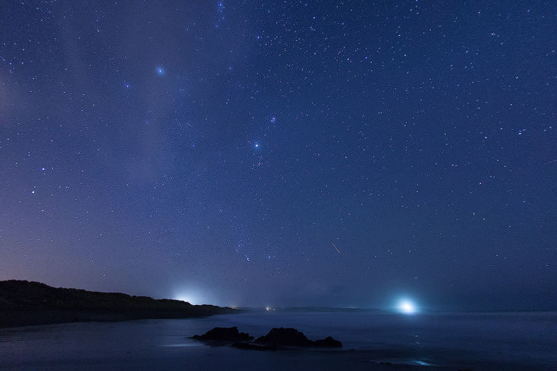 Stars over Galley Head