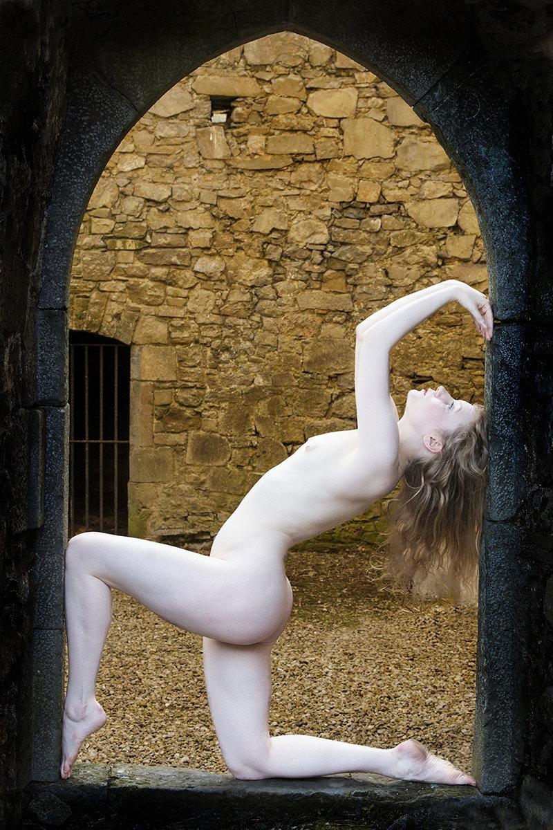 Nude In A Doorway