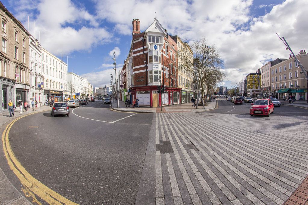The junction of Patrick's St and Grand Parade, Cork