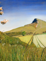 Approach from the South, Roseberry Topping - Original Oil Painting - SOLD