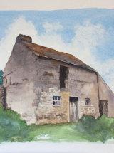 Heights Barn - Original Watercolour
