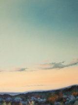 """Weardale Moorland, Dusk - Original Oil Painting - 23 ¼"""" x 23 ¼"""" - SOLD"""