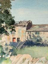 Westernhope Bridge Farm - Original Watercolour