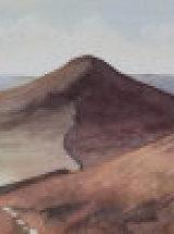 "Looking back at Roseberry - Original Watercolour - 29"" x 7"""