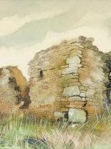Park Wall Farm, Weardale. Original Watercolour