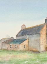 Linnew Farm, Weardale. Original Watercolour