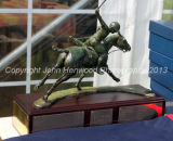 Tony Gilks Trophy won by Bob Music