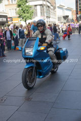 Motor cycle escort