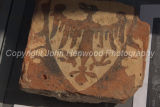 Tile found during Richard III dig