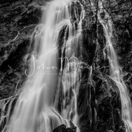 B&W-1 Powerscourt Waterfall