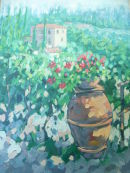 View from San Gimignano,Tuscany. Price £120 Sold