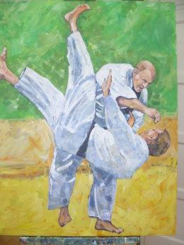 Lol judo demonstration
