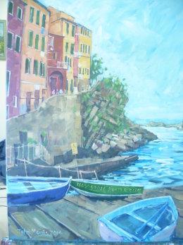Riomaggiore,Cinque Terra,Italy Sold £130
