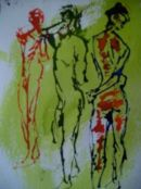 5 mins sketches using ink with a pipette