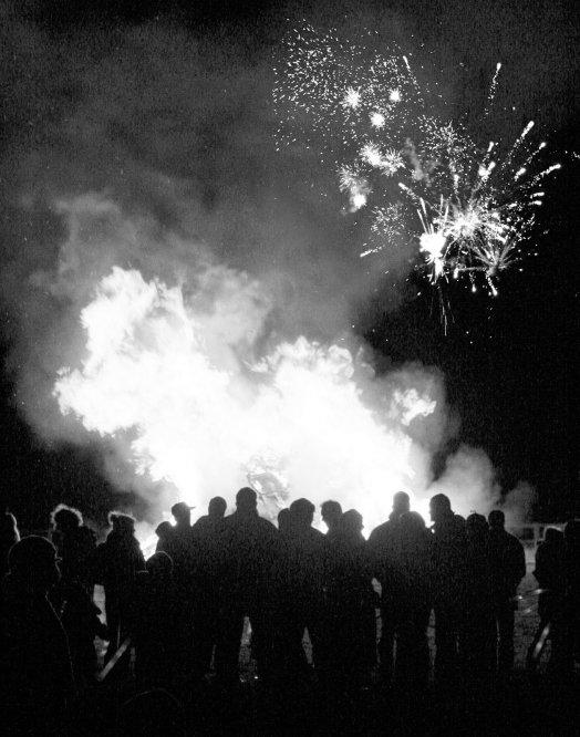 Bonfire Night in England