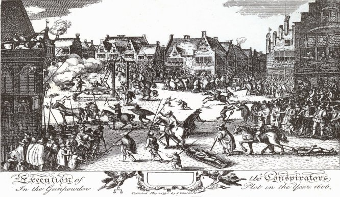 The Execution of the conspirators