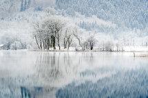 0414 Hoar Frost over Loch Ard Aberfoyle The Trossachs